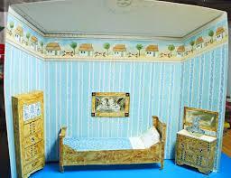 Omas Schlafzimmer Bilder Puppenstube Schlafzimmer Puppen Bastelbogen Sammleredition Reprint