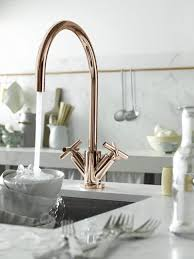 single kitchen faucet with sprayer tags brushed gold kitchen