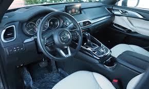 mazda cx9 interior gmc acadia photos truedelta car reviews