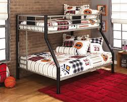 Bunk Beds Black Bunk Bed Gray Black Metal Sam Levitz Furniture