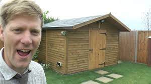 How To Make A Small Outdoor Shed by How To Build A Really Solid Shed Youtube