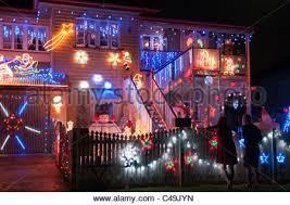 christmas lights decorating a house brisbane queensland