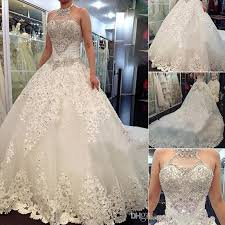 bling wedding dresses 2017 newest luxury wedding dresses with halter swarovski crystals
