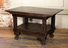 iron kitchen island table kitchen island wood and cast iron for sale at wooden island