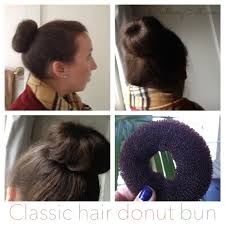 donut hair bun classic hair donut bun 2 clothingcult
