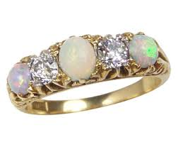 Opal Wedding Rings by Opal Engagement Ring Etsy