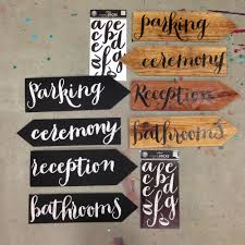 diy wedding signs wedding sign arrows me my big ideas