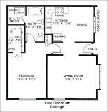 one cottage house plans 1 bedroom cottage plans size of 1 bedroom floor plans one