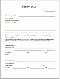 Sle Bill Of Sale For Automobile by Bill Of Sale Form Template Schedule Template Free