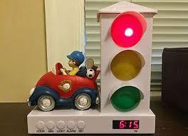 best light up alarm clock wake up light alarm clocks for kids