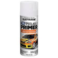 rust oleum 12 oz peel coat peelable primer spray paint 6 pack