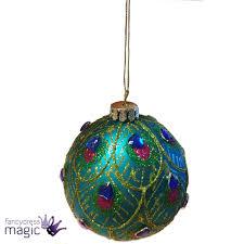 Gisela Graham Christmas Decorations Wholesale gisela graham 8cm peacock feather glass hanging christmas tree