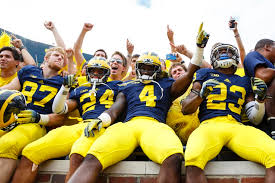 the 10 best team colors in college football of 2014 fan index