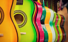 wallpaper of colorful colorful guitar hd music 4k wallpapers images backgrounds