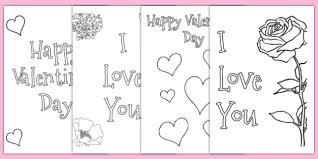 valentine u0027s card colouring templates valentine u0027s