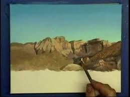 desert mountain landscape painting demo gary garrett youtube