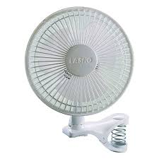 shop lasko 6 in 2 speed desk fan at lowes com