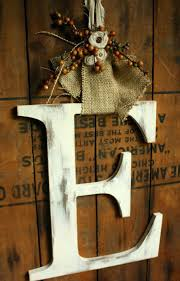 front doors autumn large letter door hanger fall wedding decor