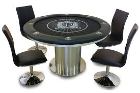 game table and chairs set venice reversible top game table california house amazing round card