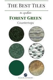Ideas To Update Kitchen Cabinets Best 25 Green Kitchen Countertops Ideas On Pinterest Green