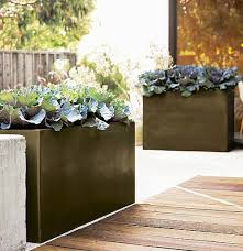Modern Garden Planters 52 Best Contemporary Garden Pots Images On Pinterest