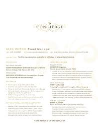 concierge job description resume concierge resume template 3