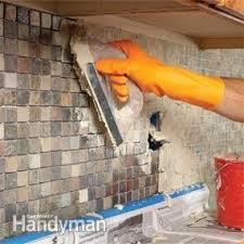 How To Tile A Backsplash In Kitchen How To Tile A Diy Backsplash Family Handyman
