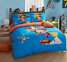 aliexpress com buy 100 cotton one piece anime bedding sets 3d