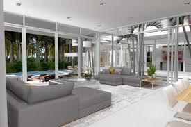 sleek stunning key biscayne home