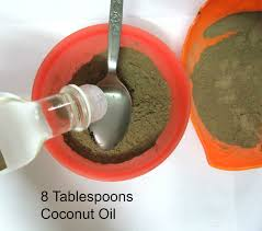 Coconut Oil For Hair Growth Results Organic Coconut Oil And Amla Hair Mask For Hair Regrowth