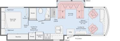 solei floorplans winnebago rvs