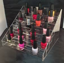 nail polish display stand holds approx 70 bottles amazon co uk