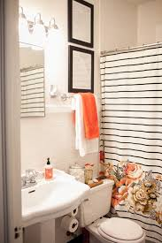 Bathroom White And Black Interior by Best 25 Orange Bathrooms Ideas On Pinterest Orange Bathroom