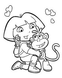printable monkey coloring pages free printable monkey coloring page cj 1st birthday pinterest