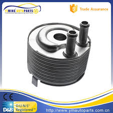 nissan almera body parts car engine oil cooler for nissan almera mk navara np300 2 5 x