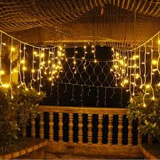 Outdoor Garland With Lights by Online Get Cheap Icicle Drop Lights Aliexpress Com Alibaba Group