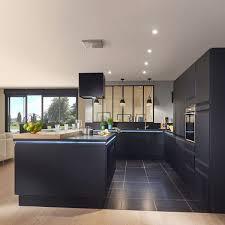 plan cuisine moderne plan cuisine en longueur 6 cuisine contemporaine moderne chic