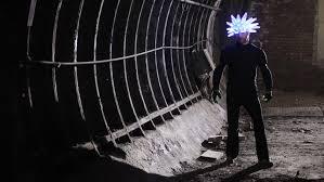 Seeking Jamiroquai Hat Moritz Waldemeyer Creates 3d Printed Light Up Helmet For