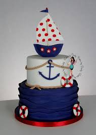 best baby shower cakes spectacular ideas nautical theme baby shower cake and top