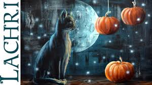 halloween background cat and pumpkin black cat and pumpkin halloween acrylic painting tips and