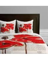 red duvet covers sales u0026 deals