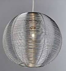 Sphere Ceiling Light Large Silver Aluminium Metal Sphere Ceiling Light Shade