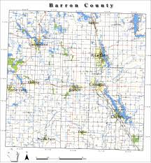 Wisconsin Road Map by Barroncounty Jpg