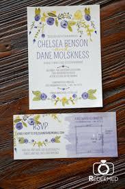 wedding invitations okc watercolor measure creative wedding invitations