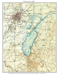 County Map New York by Old Usgs Topo Maps Of Saratoga County New York