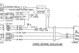 87 corvette power antenna wiring diagram 1987 corvette engine