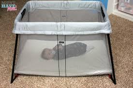 baby bjorn travel crib light must have baby product new babybjörn travel crib light
