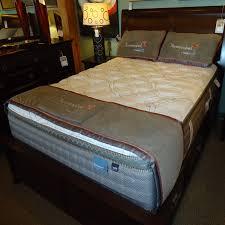 mystic cloud pillow top innerspring mattress by therapedic queen