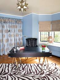 how to create a colorful and eclectic home office