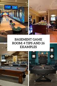 room creative basement game room room design decor fantastical